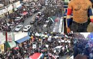 Dominicanos NY hicieron protesta apoteósica en el Alto Manhattan