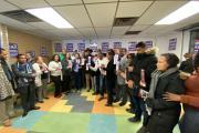 Inauguran comandado campaña reverendo Díaz en El Bronx; dominicanos asisten