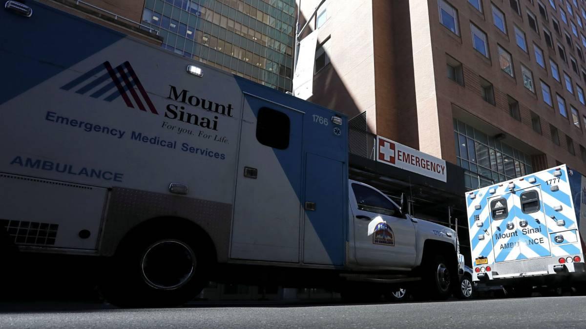Hospital Monte Sinaí de Nueva York, esperanza contra Covid-19