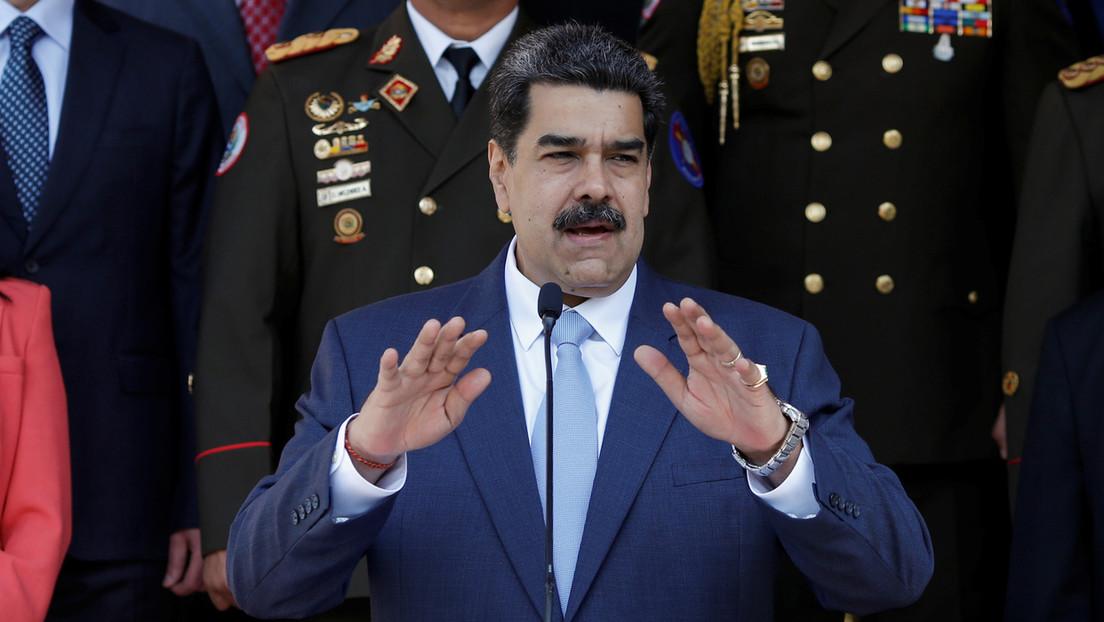 """Maduro denuncia que """"un núcleo terrorista"""" en Colombia planeaba atentar contra Venezuela"""