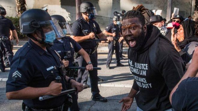 """Muerte de George Floyd: los números que muestran que la violencia policial en EE.UU. es un """"problema de salud pública"""""""