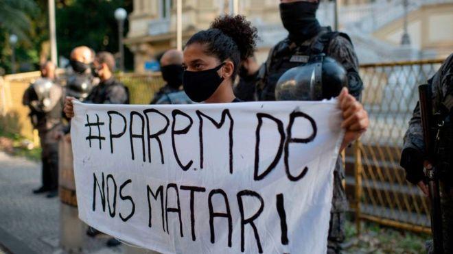 Muerte de George Floyd: el país latinoamericano donde la policía mata más negros que en Estados Unidos