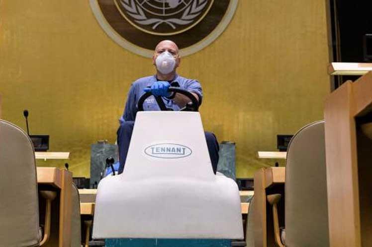 Asamblea General de ONU y sus múltiples desafíos en la pandemia