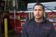 Bombero dominicano no temió al contagio para auxiliar comunidad en el pico de la pandemia