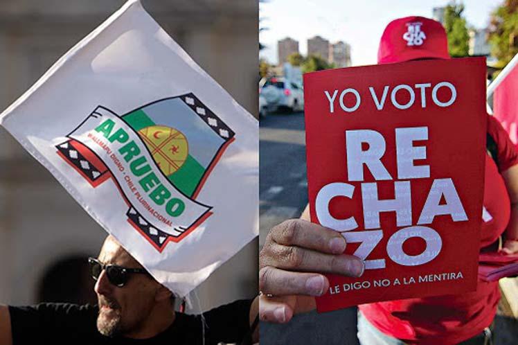 Concluye en Chile campaña electoral para plebiscito constituyente
