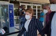 Interrogan a la expresidenta de la Cámara de diputados Yomaira Medina en la Procuraduría por declaraciones juradas de bienes que no puede justificar