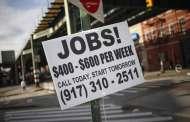 Mercado laboral de EE.UU. en tensión pese a ligero repunte