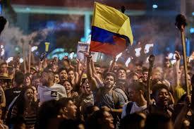 Siguen protestas en Colombia contra la violencia