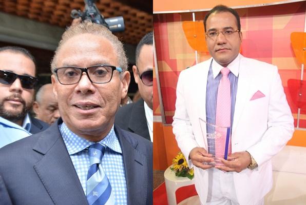 Ángel Rondón se llevó del periodista Salvador Holguín cuando lo emplazó a revelar los vínculos y financiamientos de Odebrecht a Danilo Medina para llegar al poder