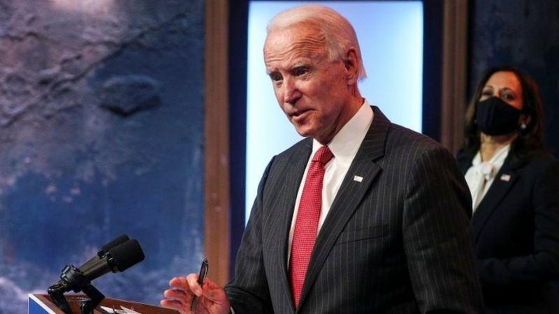 """Joe Biden: la crítica del exvicepresidente a la negación """"irresponsable"""" de Trump de su derrota"""
