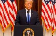 """Donald Trump dio su discurso de despedida: """"Hicimos lo que vinimos a hacer y mucho más"""""""