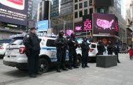 El corazón de Manhattan sin algarabías y fuertemente custodiado durante la juramentación de Joe Biden