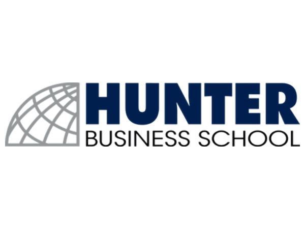 Hunter Business School logo
