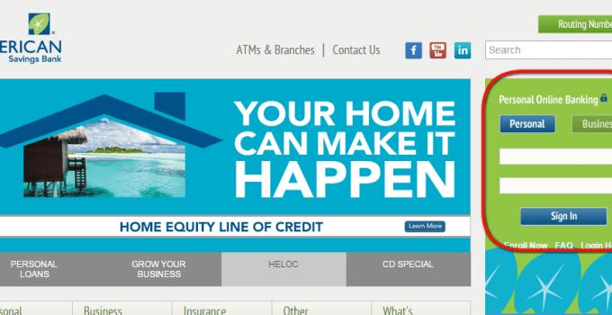 ASB Online Banking Login Step 1st