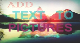 Add Text To Picture