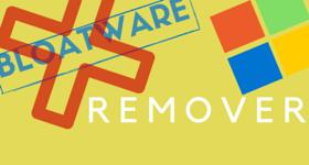 Bloatware remover