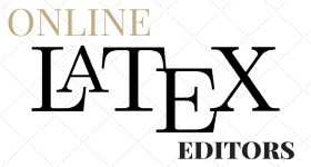 Online LaTeX Editors