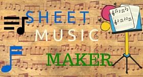 Sheet Music Maker