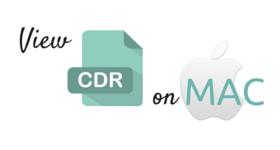 MAC CDR viewer