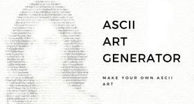 asciiI art generator