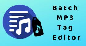 batch mp3 tag editor