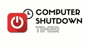 computer shutdown timer