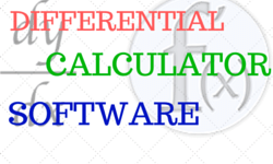 differential calculator software