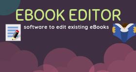eBook editor software