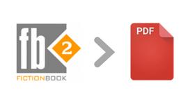 fb2 to pdf