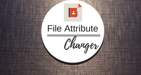 file attribute changer