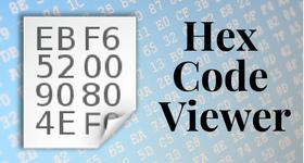 hex code viewer
