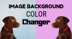 image background color changer