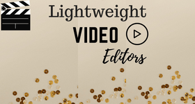 lightweight video editor
