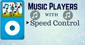 music player with speed control