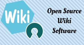 open source wiki software