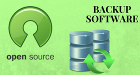 open source backup software