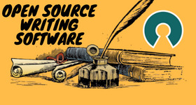 open source writing software