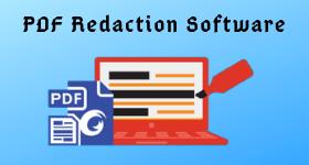 pdf redaction software