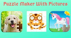 puzzle maker with pictures