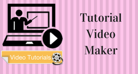 tutorial video maker