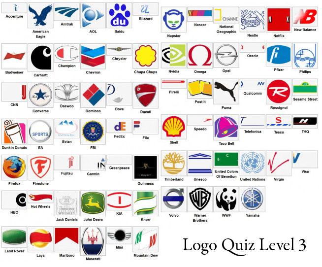 Logo Quiz Answer Level 1 2 3 4 5 6 7 8 9 Levelstuck