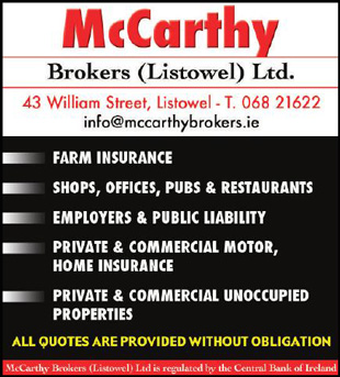 McCarthy insurance advert