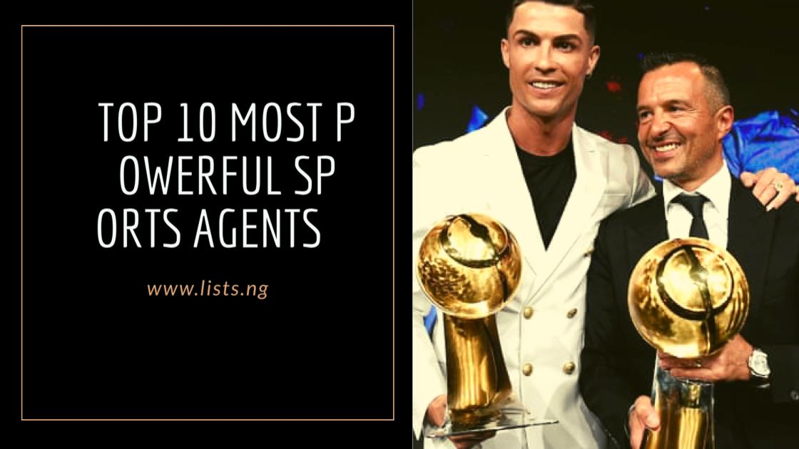 Top 10 Most Powerful Sports Agents
