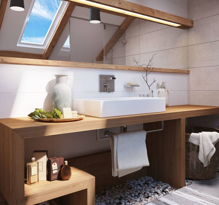 8 fabuleuses idees pour une salle de bain nature