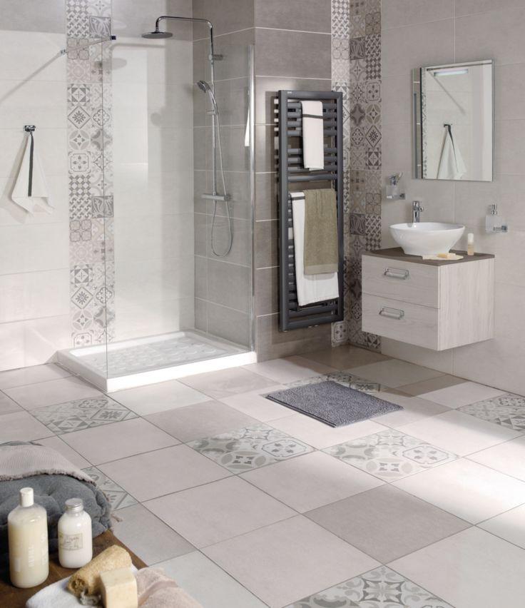 idée décoration salle de bain - carrelage mural faïence les ... - Decoration Carrelage Mural Salle De Bain