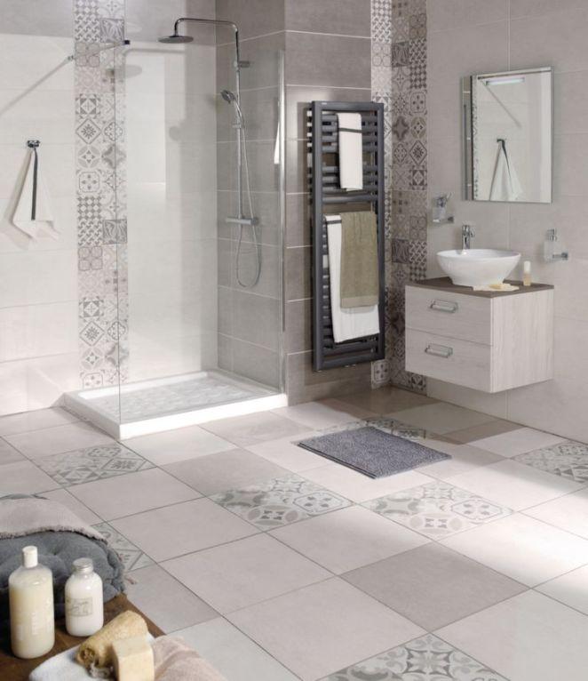 idée décoration salle de bain - carrelage mural faïence les ... - Carrelage De Salle De Bain Tendance