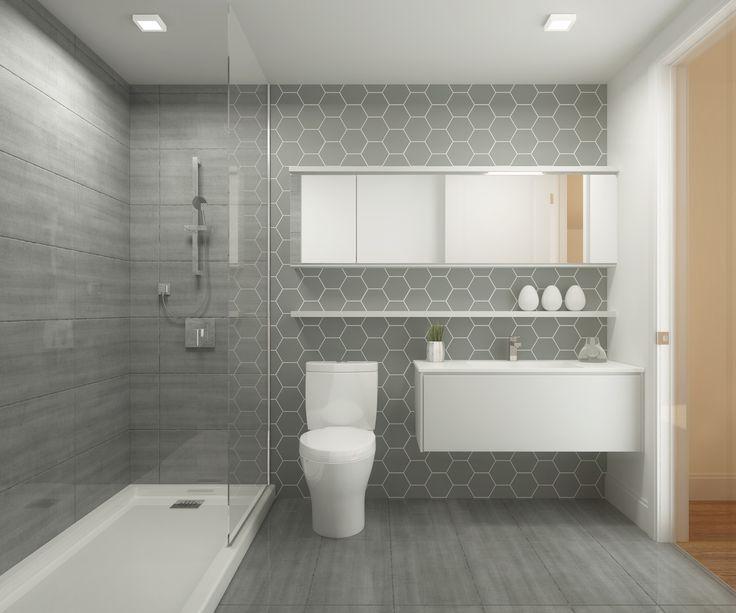 Id e d coration salle de bain salle de bain avec grosse for Nouvelles tendances salle de bain
