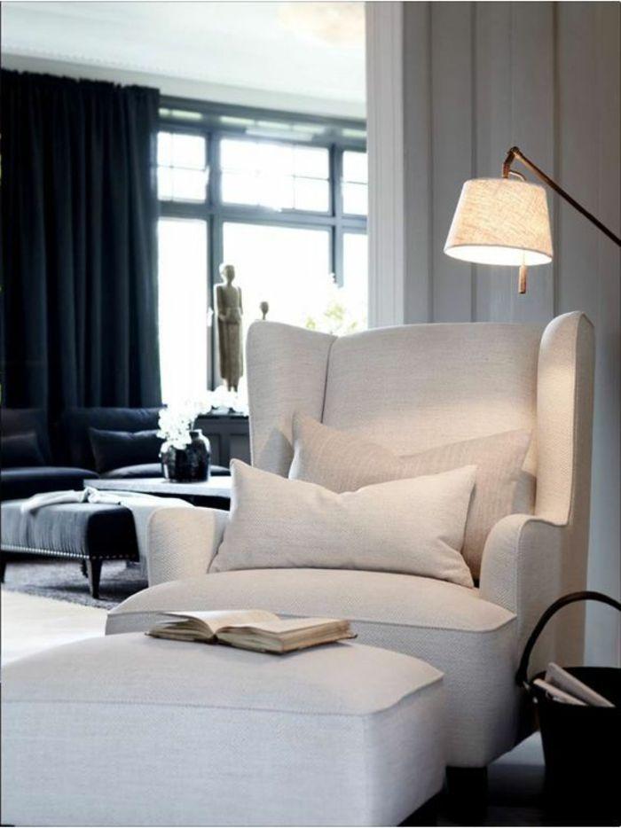d co salon canap convertible m ridienne convertible de couleur gris lampe de salon. Black Bedroom Furniture Sets. Home Design Ideas