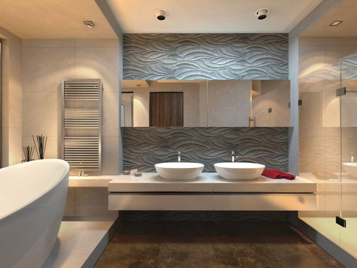 idée décoration salle de bain - carrelage mural salle de bain et ... - Enduit Decoratif Salle De Bain