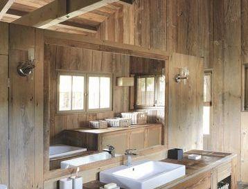 idée décoration salle de bain - salle de bain blanche carreaux de ... - Salle De Bain Maison